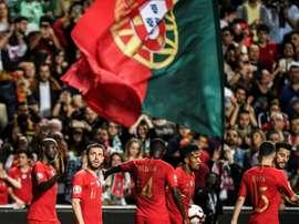 Le Portugal revient au score. AFP