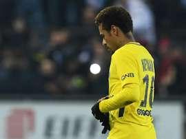 Neymar n'a pas que des éloges. AFP
