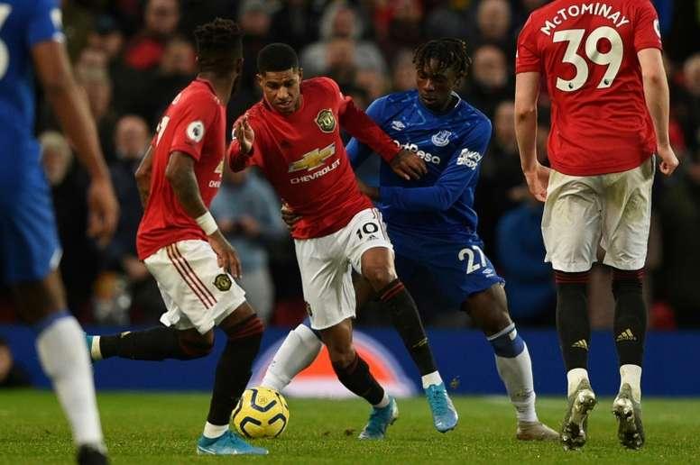 Moise Kean continuará en el Everton la próxima temporada. AFP