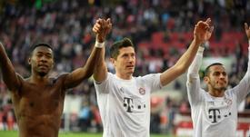 Haaland e Lewandowski, os nomes dessa Champions. AFP