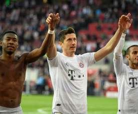 Bayern want to keep Alaba and Thiago. AFP