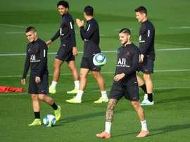 C1: le PSG vise la passe de trois à Bruges. AFP
