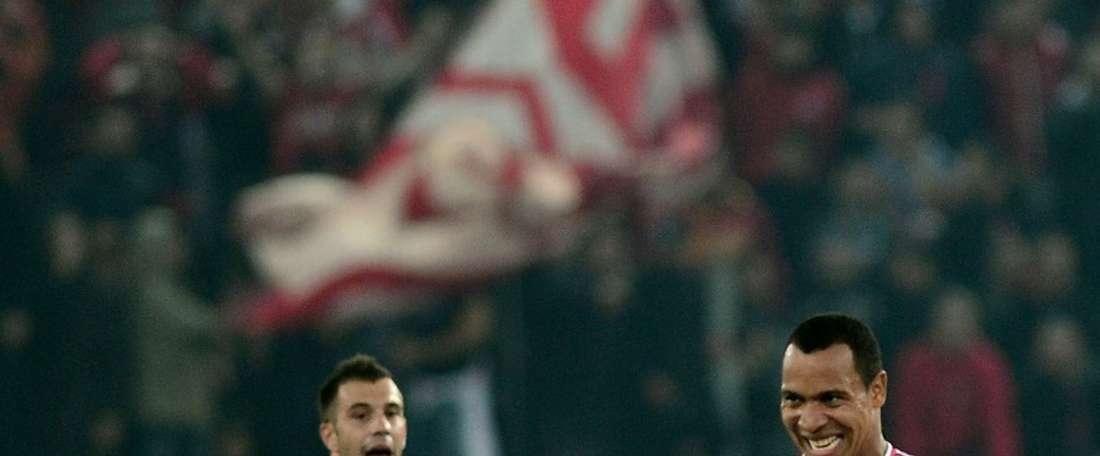 El Olympiacos no puede con el Atromitos. AFP