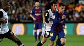 Le Barça affrontera Séville en finale. AFP