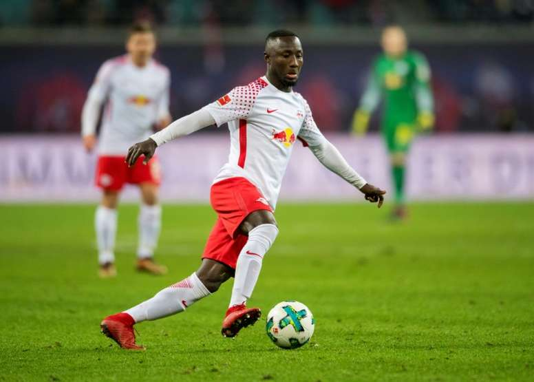 The German club have confirmed that Keita will not make early move to Merseyside. AFP