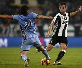 Luca Cigarini podría militar en el Cagliari. AFP