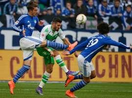Neustädter, a punto de renovar con el Schalke. AFP