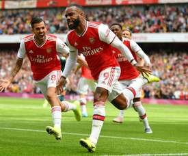 Le groupe d'Arsenal pour affronter Liverpool en Liga. AFP