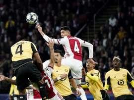 Edson Alvarez critiqué par une légende de l'Ajax. AFP