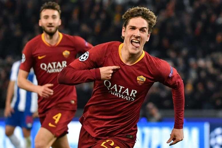 Zaniolo conquista Roma. Goal