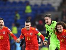La célébration de Bale ne passe pas. AFP