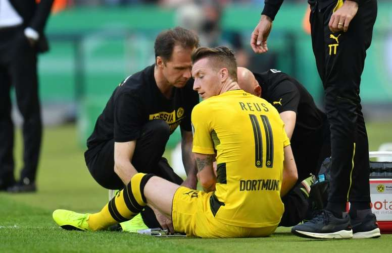 Marco Reus' career has been blighted by injuries. AFP