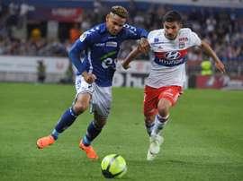 Lala est l'homme du moment en Ligue 1. AFP