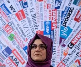 Supercoupe d'Italie en Arabie saoudite: désolant pour la veuve de Khashoggi. AFP