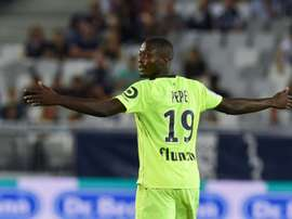 Nicolas Pepe is subject to interest from Arsenal. AFP