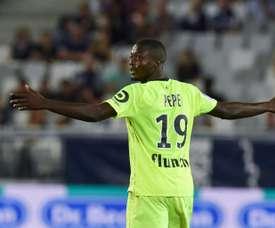 Suena para abandonar el Lille. AFP