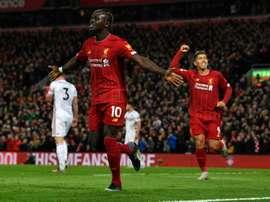Dans les coulisses du transfert de Mané à Liverpool. AFP