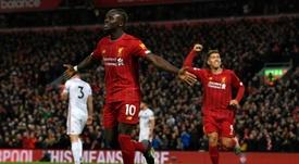 Demba Ba revient sur le Ballon d'Or. AFP