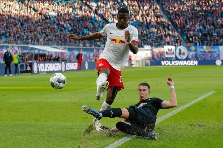Leipzig gagne et repasse en tête devant le Bayern. AFP