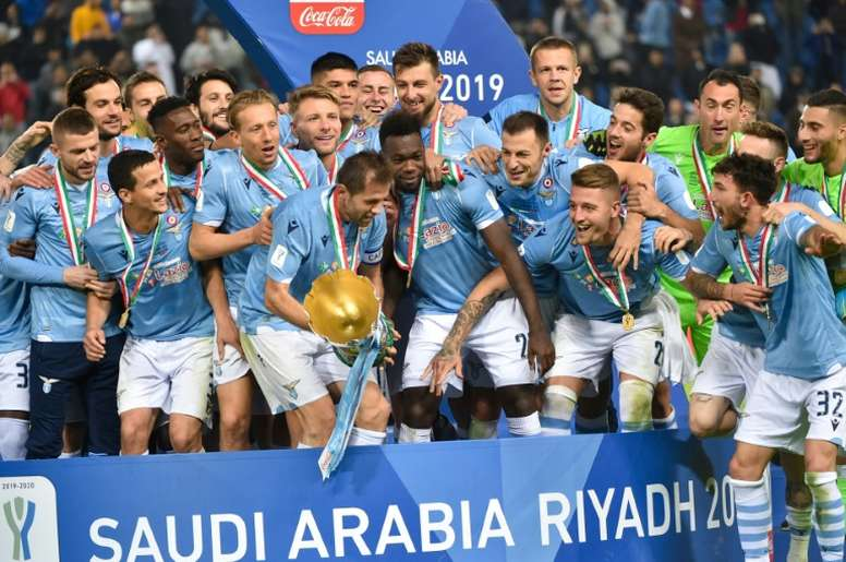 La Supercoppa se ha estado disputando fuera de Italia durante dos años. AFP/Archivo
