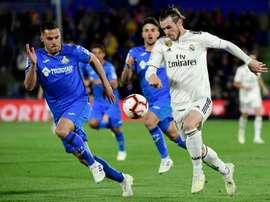 Bale a encore déçu. AFP