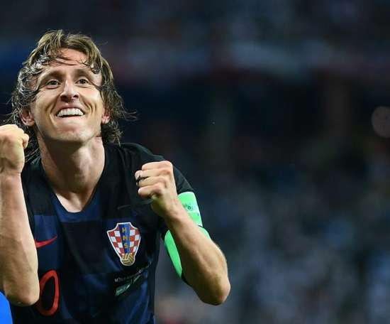 Modric was named The Best FIFA Men's Player of 2018. AFP