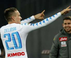 Zielinski could move to Real Madrid. AFP
