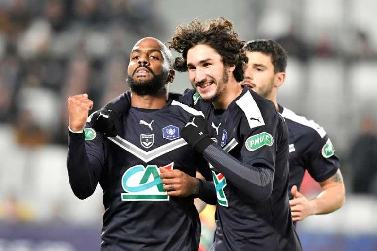 Les compos probables du match de Ligue 1 entre Bordeaux et Dijon. AFP