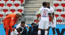 Gueye absent plusieurs semaines. AFP