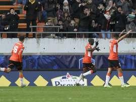 Lorient reprend le fauteuil de leader de Ligue 2. AFP
