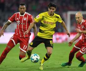 Fim das negociações Borussia-Bayern. AFP