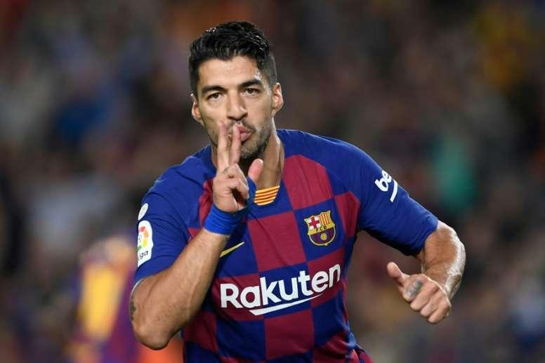 'AS': Suárez jugará infiltrado. AFP