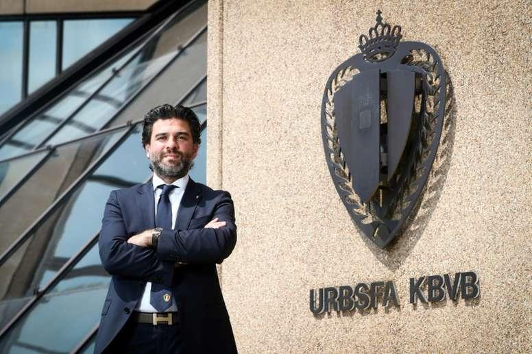 Fin prématurée du championnat belge : solution en vue avec l'UEFA. AFP