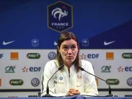 Diacre en interview à l'AFP. AFP