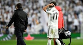 Lucas Vázquez reconoció que atraviesa un momento difícil. AFP
