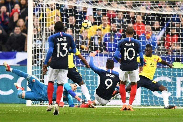 Défense et défiance — Équipe de France