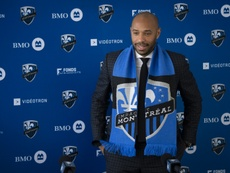 MLS: Thierry Henry plaide la patience à Montréal avec un club à reconstruire. AFP