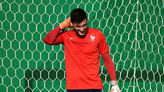 Lloris devrait jouer le prochain match de la France. AFP