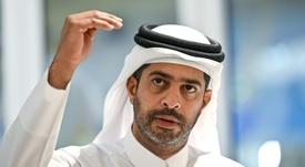 Nasser al-Khater, un responsable de l'organisation de la CDM de football 2022 au Qatar. AFP