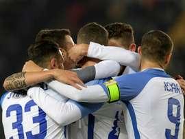Inter volta a vencer no Calcio. AFP