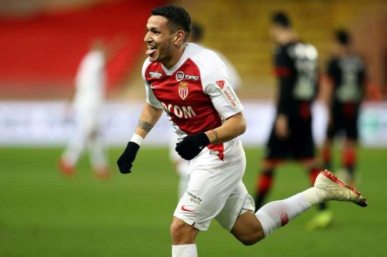 Monaco a retrouvé l'un de ses meilleurs attaquants. AFP