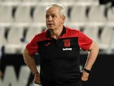 Leganés se sépare de son entraîneur Javier 'Vasco' Aguirre. AFP