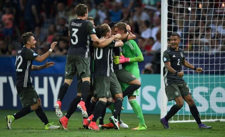 L'Allemagne s'offre une place en finale. AFP