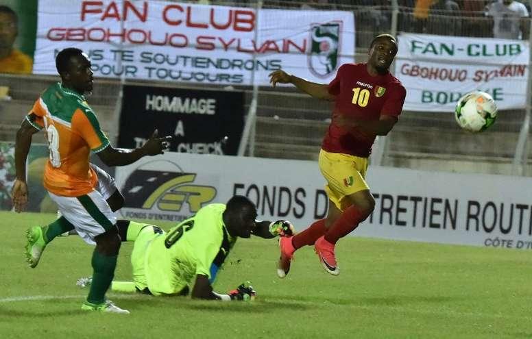 Les compos probables du match de la CAN entre la Guinée et Madagascar. AFP
