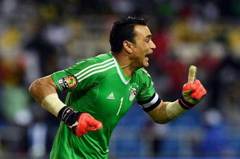 El-Hadary is aged 45. AFP