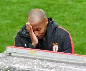 Henry, sin suerte en su estreno como técnico. AFP