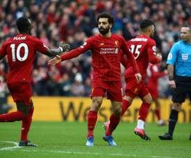 Ex-Real Madrid e Liverpool falou sobre Salah e Mané. AFP