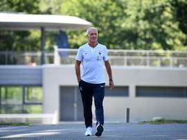 Coman and Lemar may replace injured Mbappe. AFP