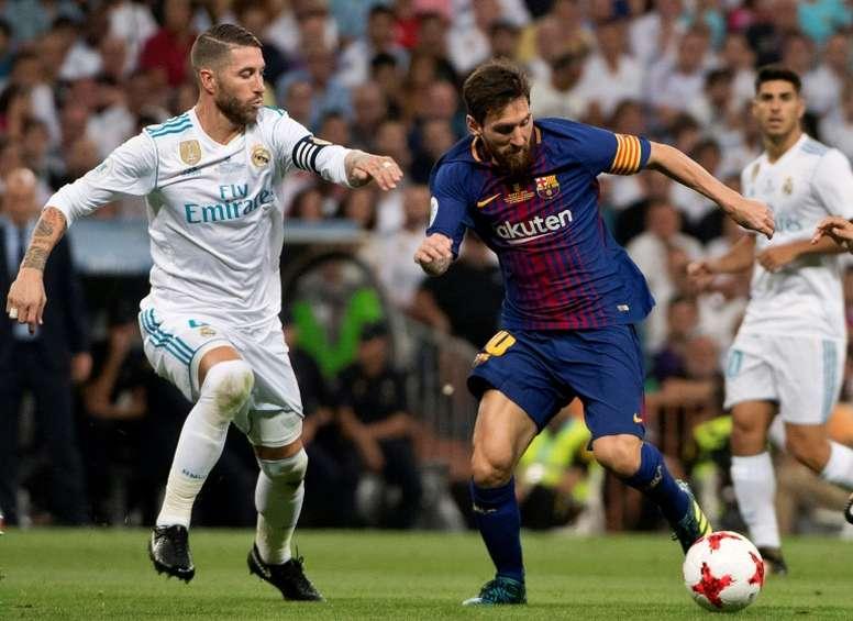 'COPE': Competición aplaza el 'Clásico'. AFP