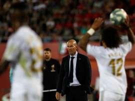 No vestiário do Real Madrid não há duvidas: contam com o melhor técnico possível. AFP
